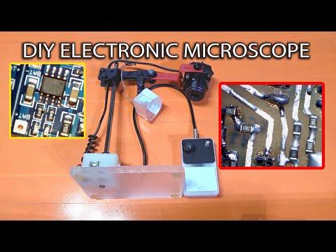 DIY electronic microscope