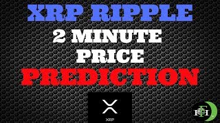 RIPPLE XRP 2-MINUTE PRICE PREDICTION (XRP HOLDING STRENGTH)