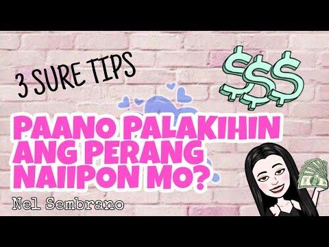 Paano Palakihin ang Perang Naiipon mo? (3 Sure Tips) | Nel Sembrano