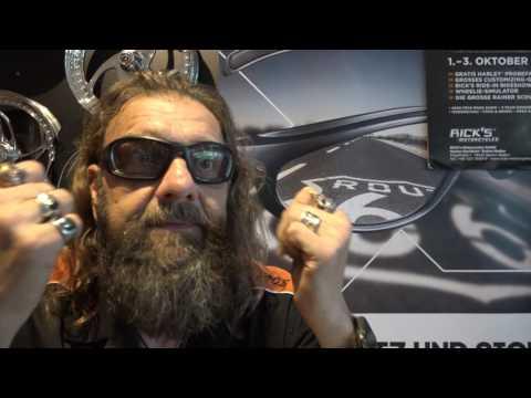 Eine Harley-Davidson Sonnenbrille mit Sehstärke vom Optiker Wilde