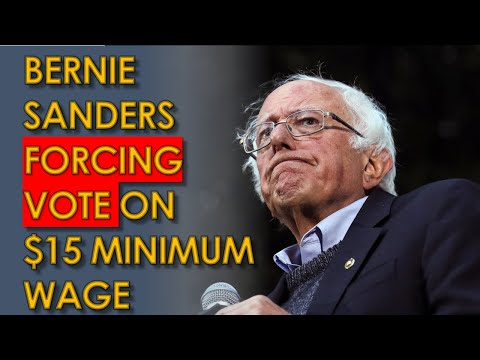 Bernie Sanders FORCING Vote on $15 Minimum Wage; IGNORING Senate Parliamentarian