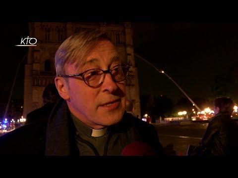Notre-Dame : réaction de Mgr Chauvet dans la nuit