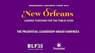 The Prudential Leadership Award Nominees