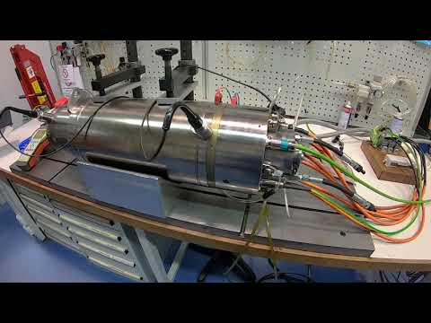 Spindelreparatur einer Kessler DMS 112 Motorspindel