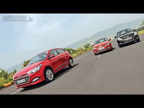Hyundai Elite i20 vs Volkswagen Polo vs Suzuki Swift - Diesel Comparative Review - Volkswagen Videos