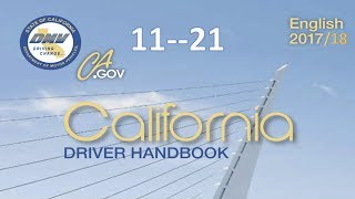 California Driver Handbook | Audiobook...(REAL VOICE)...DMV.....11--21
