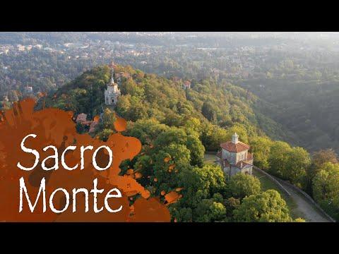 Il Sacro Monte visto dal drone