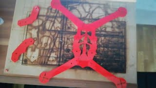 FPV Drone Frame Lasercut for FPV Racing + Free File Download