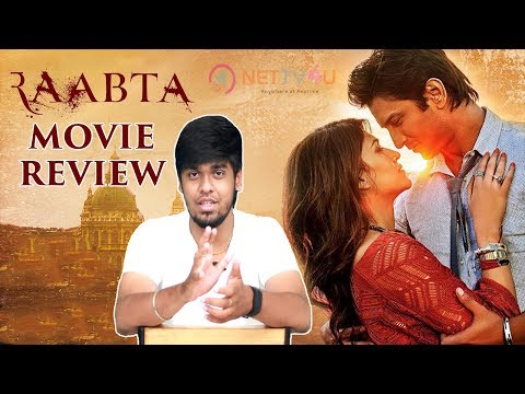 Raabta Movie Review ..