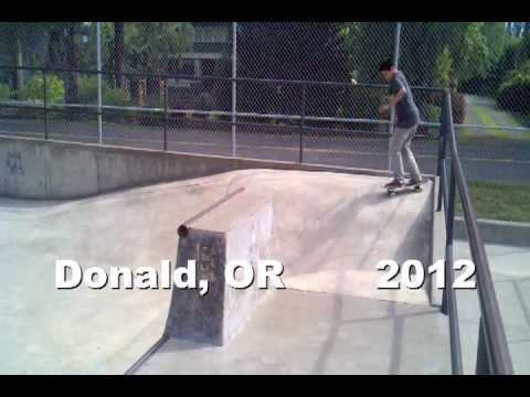 Donald Skatepark @ 11 years old: going strong