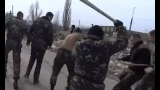 Українські морпіхи врукопашну зійшлися з тітушками