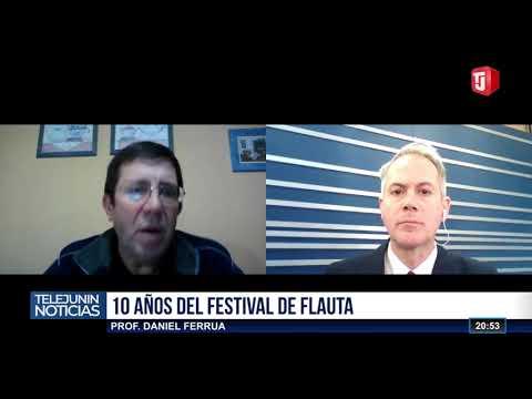 Para fines de agosto se realizará  el Décimo Festival de Flautas en Junín