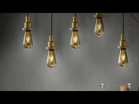 Vintage Edition 1906: lampade e apparecchi retrò
