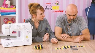 "Nähanleitung Biene ""BITSY"" aus dem Nähset der kullaloo bitsyBEE Nähmaschine"