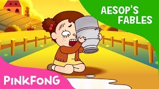 The Milkmaid and Her Pail | Aesop's Fables | Pinkfong Story Time for Children