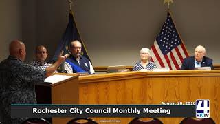 Rochester City Council - 08-28-18