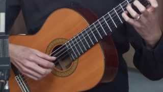 """Video thumbnail of """"Classical Guitar Lesson 1"""""""