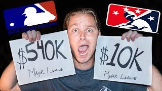Major League vs Minor League SALARIES