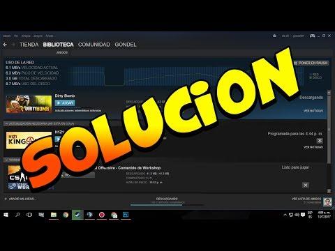 Descarga de juegos se para a 0 bytes/segundo :: Foro en español