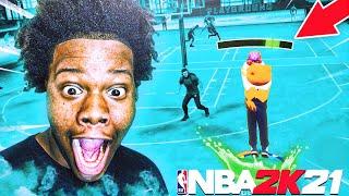 I USED THE NBA 2K21 METER EARLY ON NBA 2K20😱! GAME BREAKING!