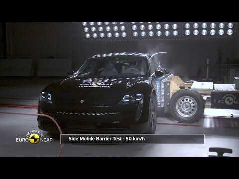 Euro NCAP Crash & Safety Tests of Porsche Taycan 2019