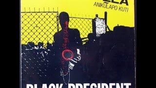 Fela Anipulapo Kuti   Black President  ( 1981 ) Sorrow tears and blood