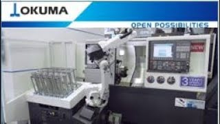 Okuma GENOS L3000-e – Automation With RoboJob TURN-ASSIST 200