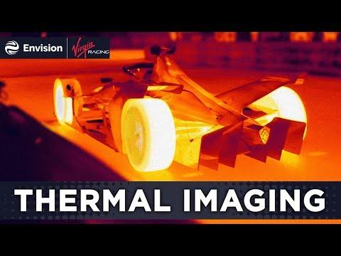 Formula E Thermal Imaging w/ FLIR!