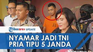 Nyamar jadi TNI, Seorang Pria Tipu 5 Janda di Mojokerto