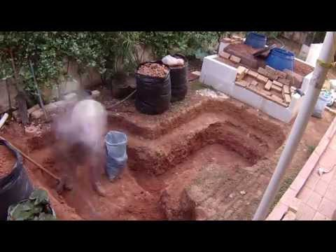Pond construction (3.000 lt)