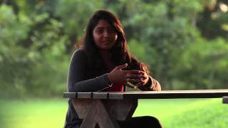 Shrusti a UID student says that the campus is very huge and