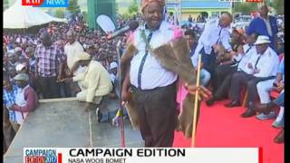 NASA sets camp in  Bomet : Isaac Ruto's speech in Bomet