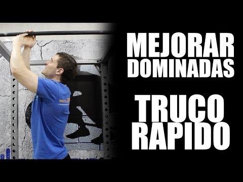 TRUCO PARA MEJORAR DOMINADAS FÁCILMENTE