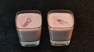Anardana lassi | Simple And Sweet Pomegranate Lassi | Lassi Recipe