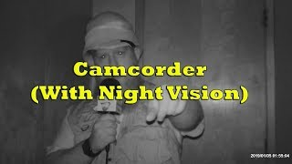 Product Demo - Video Camcorder With Night Vision