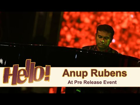 Anup Rubens Live Performance At Hello Pre Release Event