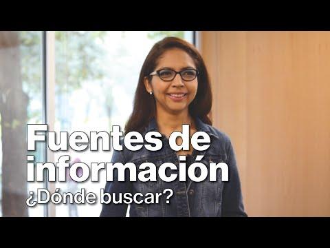Fuentes de información, ¿dónde buscar?