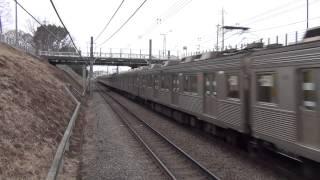 【爆音・最高速通過】東急8500系 南町田駅を疾走③