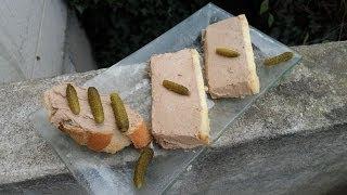 Cuisine Française - Terrine de foie de volaille