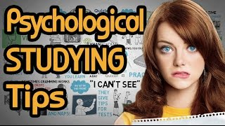 8 Psychological Study Tips - How to Study More Material and Learn Quicker - Best Studying Tips
