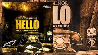 Hello (Audio) - Menor Menor (Video)
