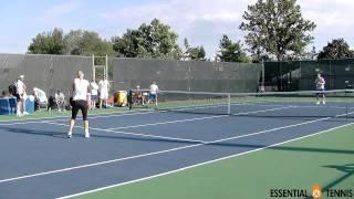 Short Court Tennis Lesson 1 of 3 - Mini Tennis Tutorial