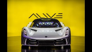 YouTube Video wFAi-B-H86o for Product Lotus Evija Electric Sports Car by Company Lotus Cars in Industry Cars