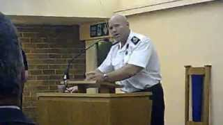 preview picture of video 'Greasby merger West Kirby Upton closure  fire station consultation meeting 10th November 2014 Part 6'