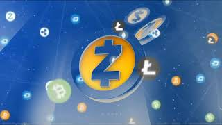 Zcash Video Background effect / КРИПТО видео заставка