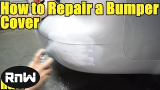 How To Repair And Paint A Plastic Bumper Cover For Beginners - Part I