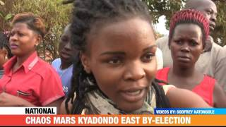 #PMLive: CHAOS MARS KYADONDO EAST BY ELECTION