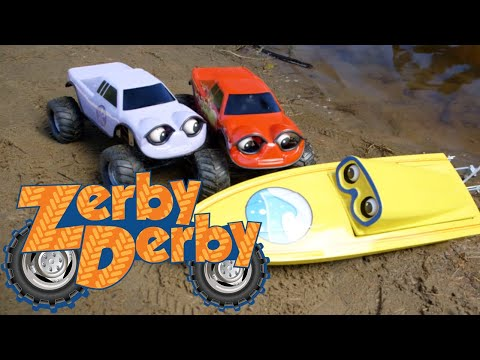 Zerby Derby |🚤| BEACHED BOB |🚚| LILY GETS MOVED |🌊| MAKING WAVES | Full Episodes