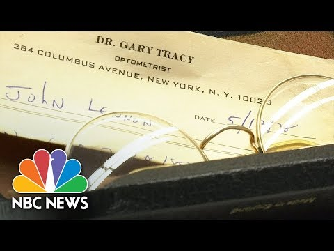 Stolen Items That Once Belonged To John Lennon Recovered In Berlin | NBC News