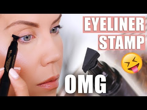 ONE-SECOND WINGED EYELINER ... OMG